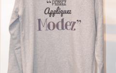 pensez appliquez modez sweatshirt pull du club des cotonettes wax goodies cadeau
