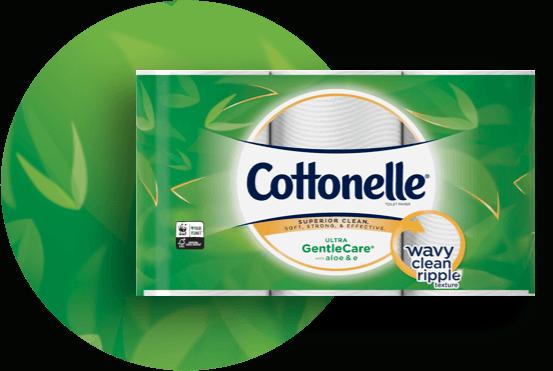 Cottoneller Gentlecarer Toilet Paper With Aloe