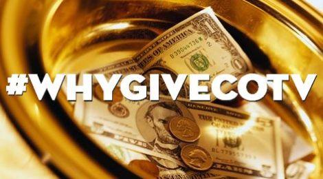 Why I Give!