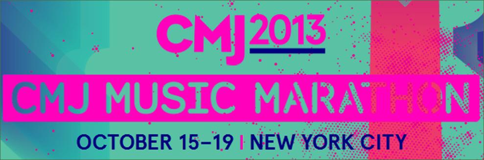 cmj music marathon banner