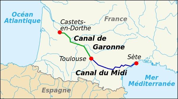 600px-Canal_du_Midi_map-fr