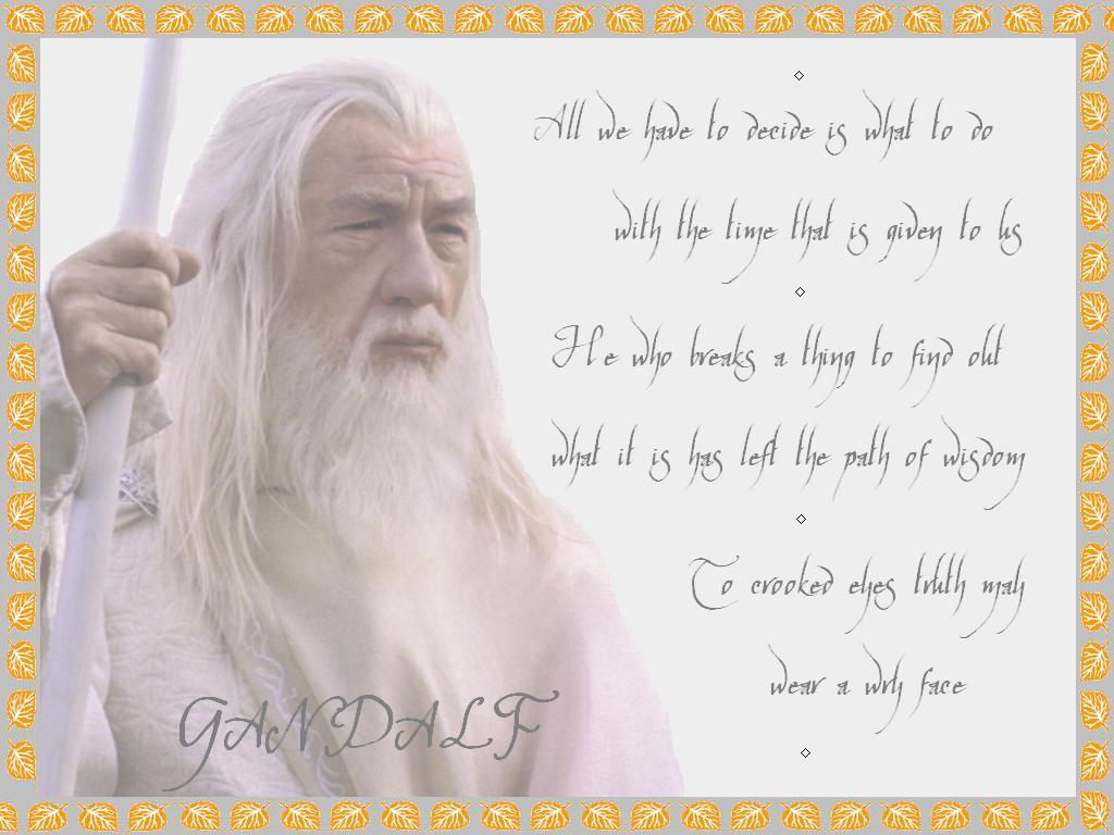 Download Wise Quotes Wallpapers Council Of Elrond 187 Download Categories 187 Gandalf
