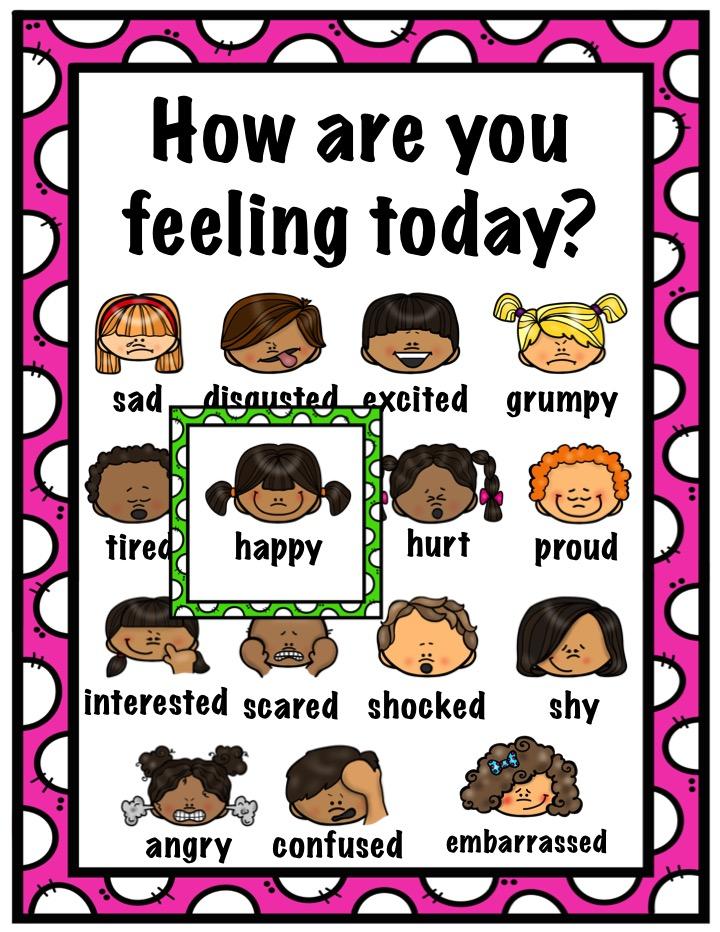 Feelings  Feelings Chart - Feeling Chart