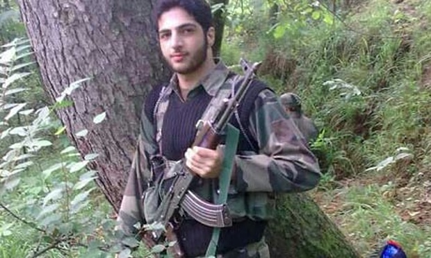 Poster boy of Hizb killed in an encounter