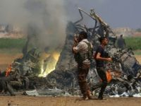 Russian Helicopter Shot Down In Syria As Battle Rages Over Aleppo