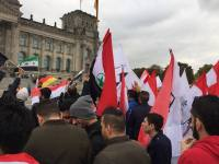 No To Executions In Ahwaz: Ahwazis Protest Outside German Parliament