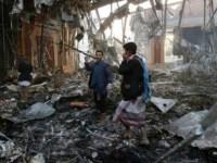 US- Saudi Arab Relations Jerked As Saudi Air Strike Kills 140 At Funeral Hall In Yemen