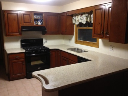 countertop and cabinet project