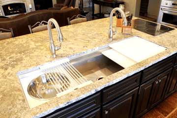 Kitchen Ideas Tulsa Galley Sink the galley sink offers options and built-in accessories