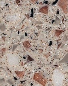 Formica 'Copper Quartz' solid surface