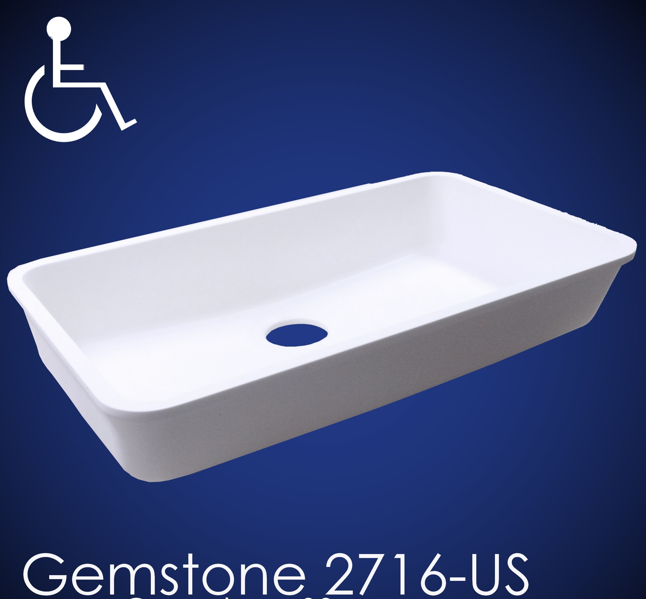 Gemstone Sink : Gemstone Provides New Universal ADA-Compliant Single-Bowl Sink