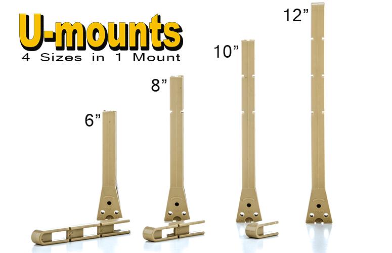 the hands free u mount undermount sink support - Kitchen Sink Clips