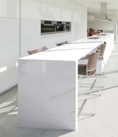 Ohm International Introduces Aurea Stone Surfacing Product