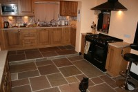 Interior Landscaping - Natural Stone Floors for Kitchens ...