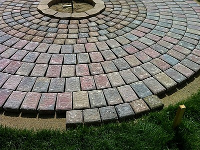How To Build A Patio And Fire Pit With Easy Instructions And Step By Step Images