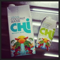 30 second review – Chi coconut water