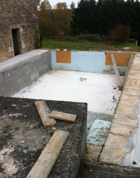 Pool in progress! - Easter 2016