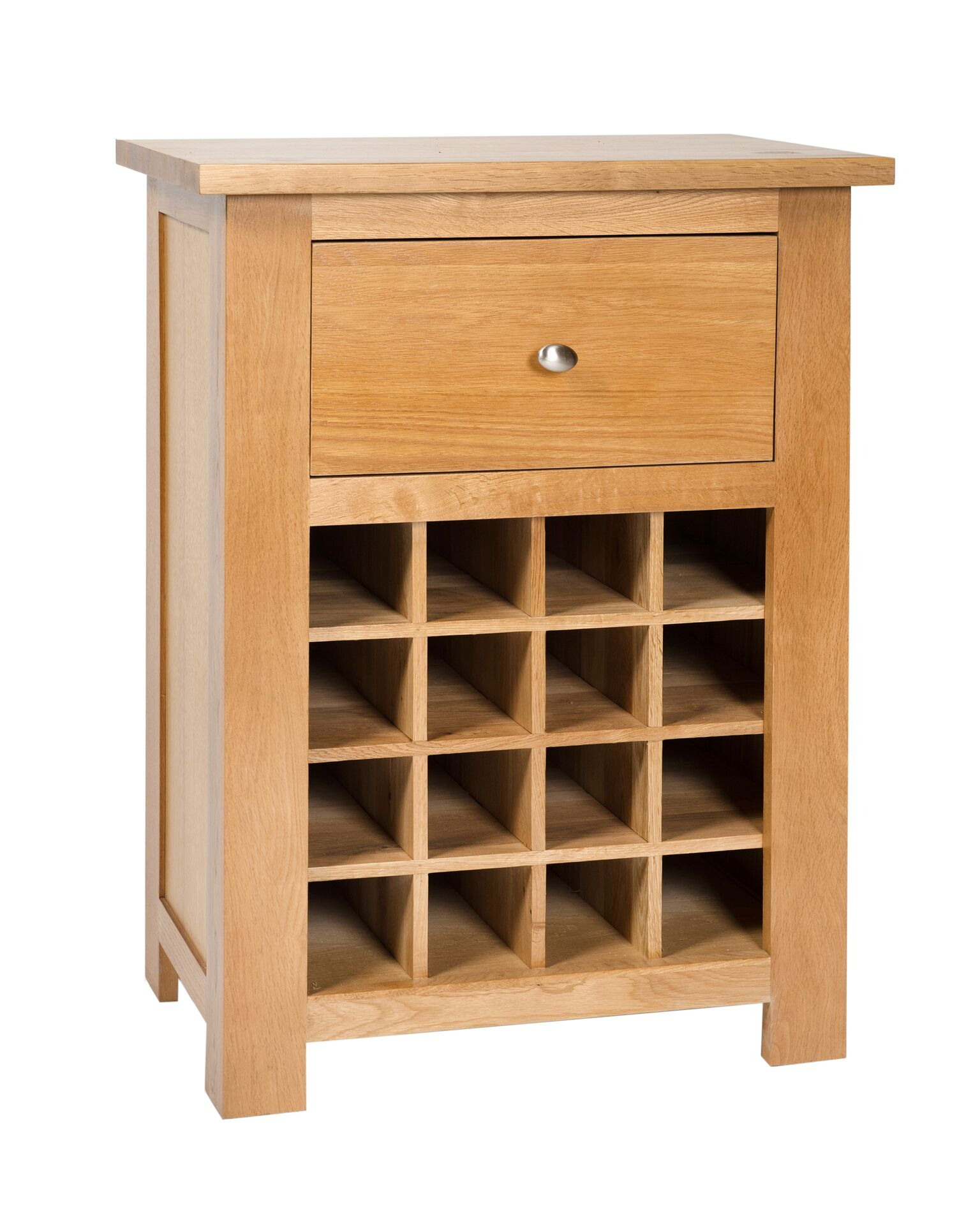 So Oak Wine Rack With Drawer Country Furniture Barn