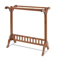 Mission Quilt Rack | Amish Handcrafted | Solid Hardwood ...