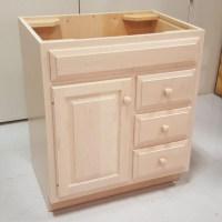 Custom Maple Bathroom Vanity Cabinet | Custom Bathroom ...