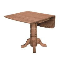 Locally Handcrafted Rectangle Drop Leaf Table - Country ...