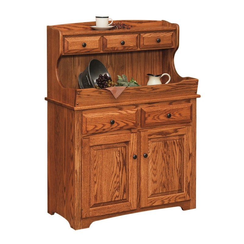 High Back Dry Sink Amish Made Near Lancaster Pa