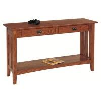 Mission Oak Sofa Table Olde Mission Sofa Table Ohio ...