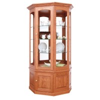 Charlotte Large Wall Curio | Amish Handcrafted Curio ...