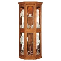 Portland Small Corner Curio | Amish Made Curio Cabinet ...