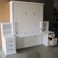 Amish Solid Wood Murphy Bed - Country Lane Furniture