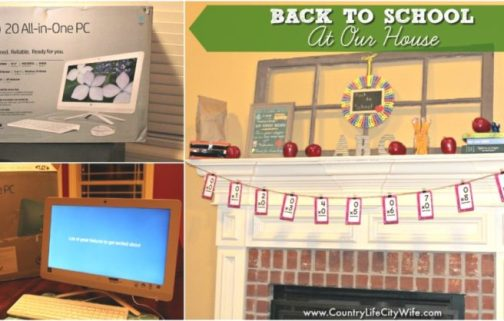 Back to School at Our House: Printable and Starting a Family Blog Tutorial