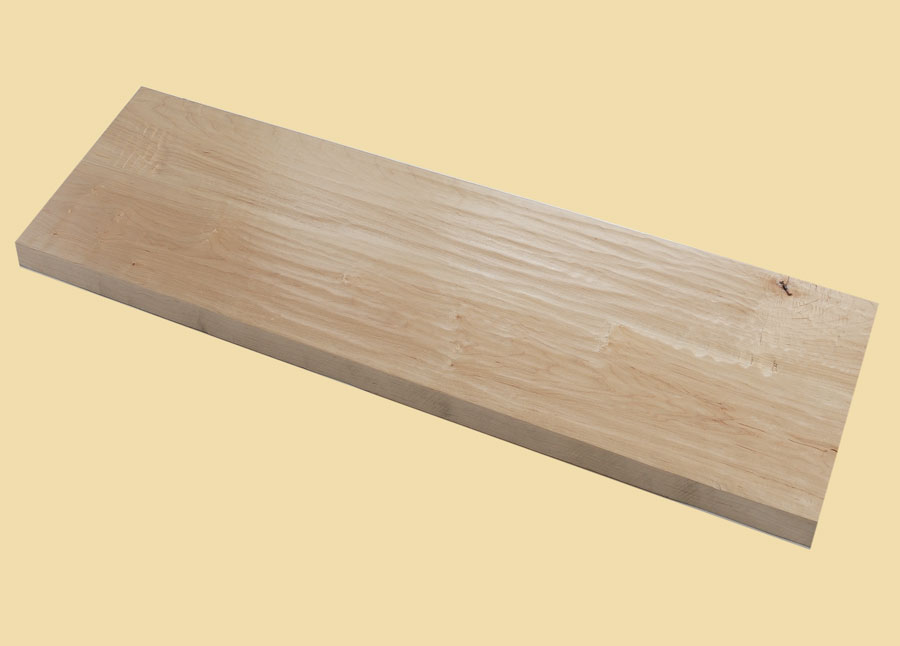 Soft Maple Hand Scraped Extra Thick Stair Tread Prefinished Order Any Size  Prefinished Hand