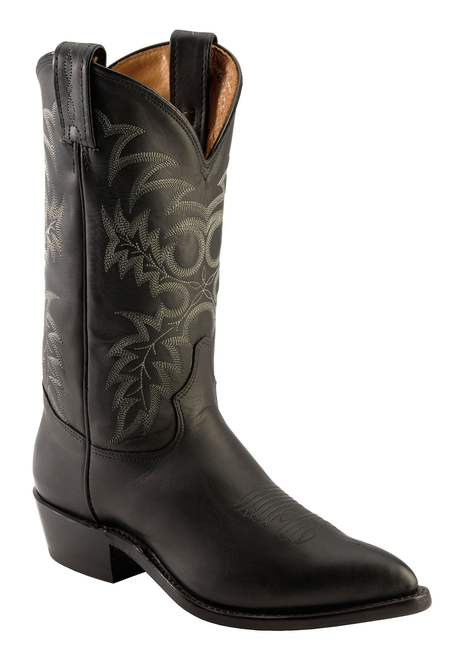 Tony Lama Americana Stallion Western Boots Pointed Toe