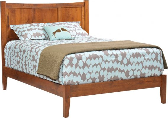 Austin Modern Shaker Bed Countryside Amish Furniture
