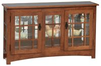 Newton Large Mission Curio Cabinet - Countryside Amish ...