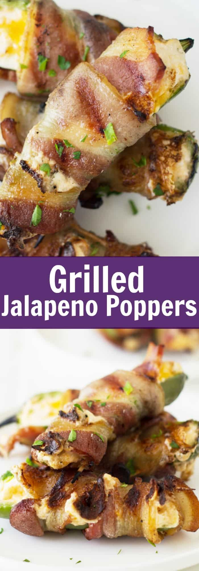 how to cook poppers on the grilled