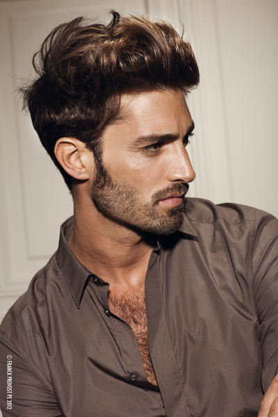 Coiffure Homme Long Dessus Court Cote Ivory Hairstyle