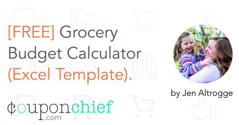 FREE Grocery Budget Calculator (Excel Template) - grocery calculator online