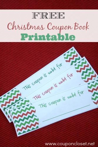 christmas coupon book ideas - Blackdgfitness