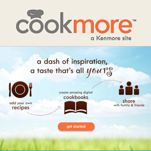 Cookmore Free Online Recipe Site (Includes Calorie Counter, Menu