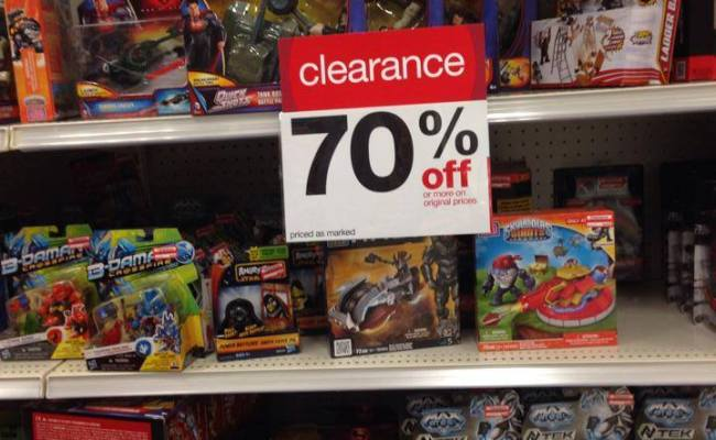 Target Toy Clearance Toys Marked As Low As 70 Percent Off