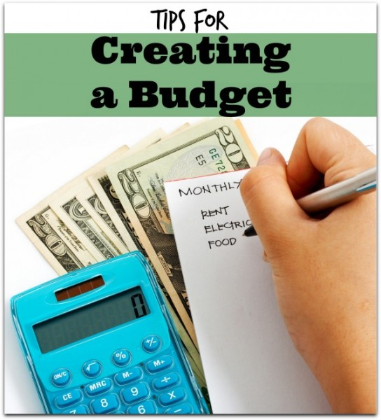 How to Create a Budget - creating a budget