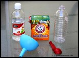 Baking Soda Vinegar Balloon Science Project