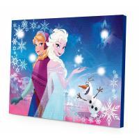 Walmart: Disney Frozen LED Light Up Canvas Wall Art Only ...