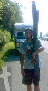 Junior Garcia on The Journey near New Market, TN on June 29, 2012 off 11E (Andrew Johnson Hwy)