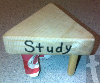 1 of the three sides reads study - Was an Agape Gift from my Walk to Emmaus #32