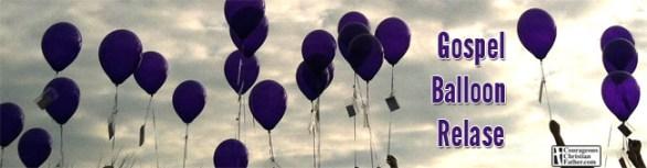 Gospel Balloon Release