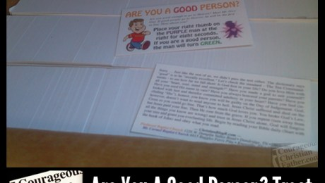Are You A Good Person? Tract