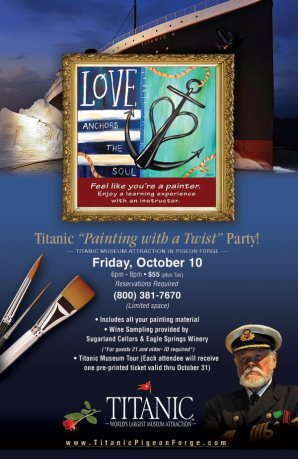 "Titanic ""Painting with a Twist"" Party!"