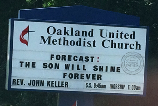 Oakland United Methodist Church | Forecast: The Son Will Shine Forever